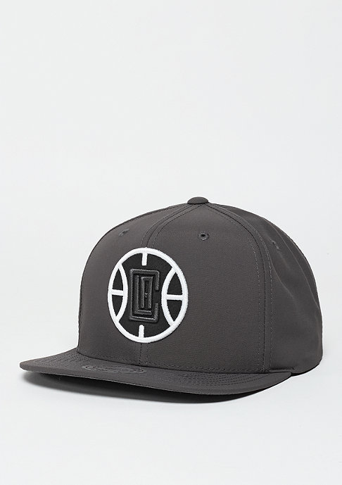 Mitchell & Ness Snapback-Cap Milo NBA Los Angeles Clippers grey