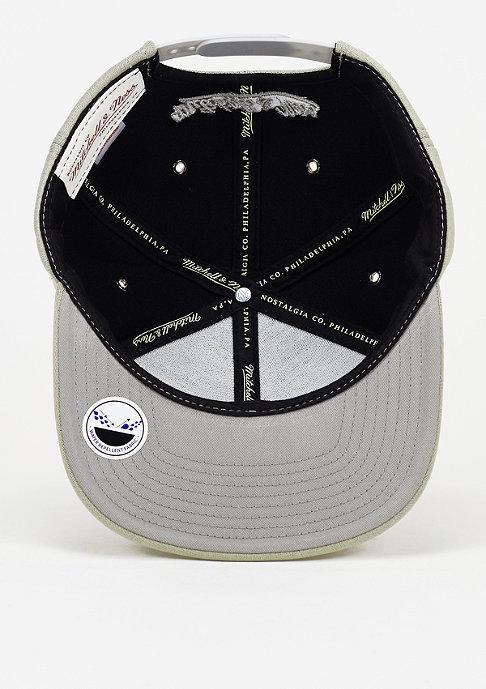 Mitchell & Ness Snapback-Cap Neoprene grey