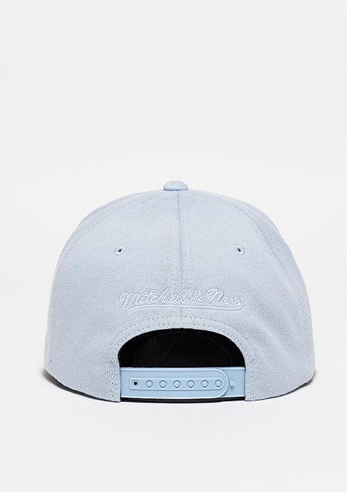 Mitchell & Ness Baseball-Cap Script Melange Jersey light blue