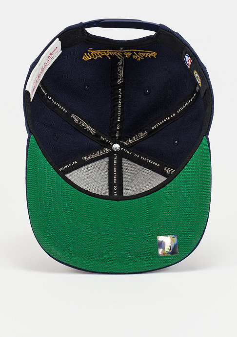 Mitchell & Ness Snapback-Cap Wool Solid NBA Indiana Pacers navy