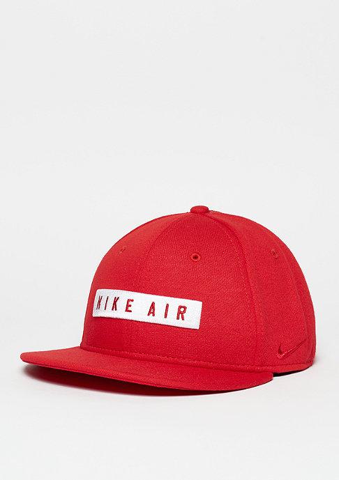 NIKE Snapback-Cap Air 92 True university red/white