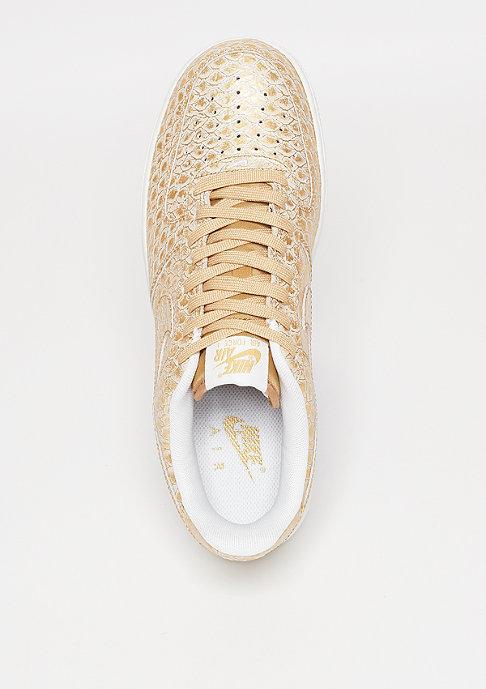 NIKE Basketballschuh Air Force 1 07 LV8 metallic gold/metallic gold/summit white