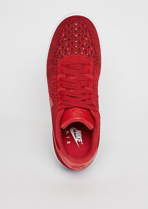 NIKE Basketballschuh Air Force 1 Flyknit Low university red/university red/white