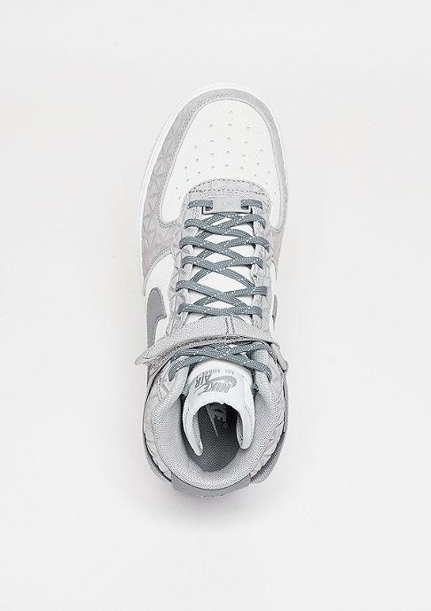 NIKE Schuh Wmns Air Force 1 Hi PRM Suede matte silver/clear grey