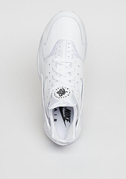 NIKE Laufschuh Air Huarache Run PRM white/white/black