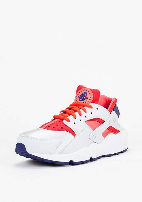 NIKE Laufschuh Wmns Air Huarache Run pure platinum/bright crimson/loyal blue