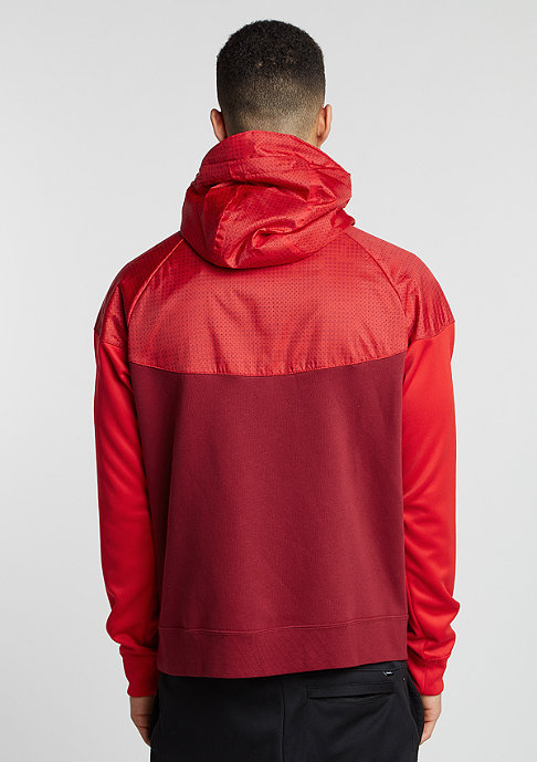 NIKE Trainingsjacke Air Hybrid Fleece Windrunner team red/university red