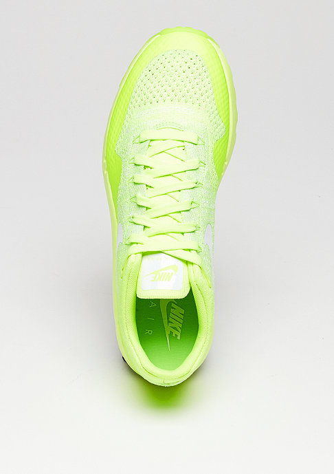 NIKE Schuh Air Max 1 Ultra Flyknit volt/white/electric green