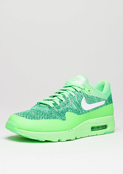 NIKE Schuh Air Max 1 Ultra Flyknit voltage green/white/lcd green