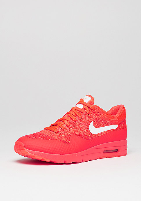 NIKE Schuh Wmns Air Max 1 Ultra Flyknit bright crimson/white/university red
