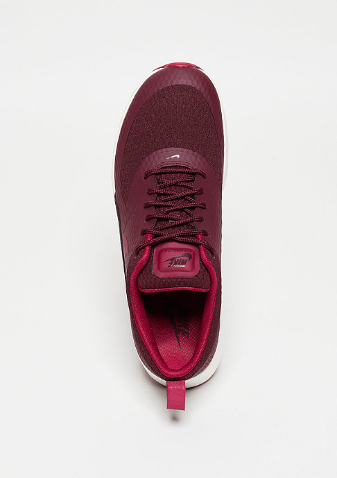 NIKE Laufschuh Air Max Thea Textile night maroon/red/summit white