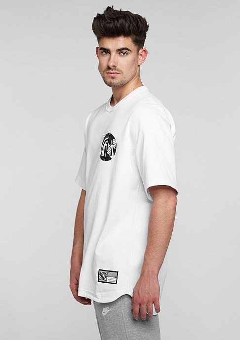 NIKE T-Shirt Air Pivot V3 white/black
