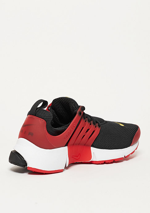 NIKE Laufschuh Air Presto Essential black/yellow/university red