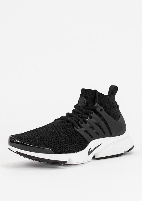 NIKE Laufschuh Air Presto Ultra Flyknit black/black/white/electric green