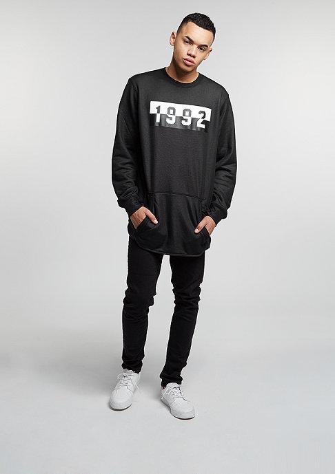 NIKE Sweatshirt Air black/black