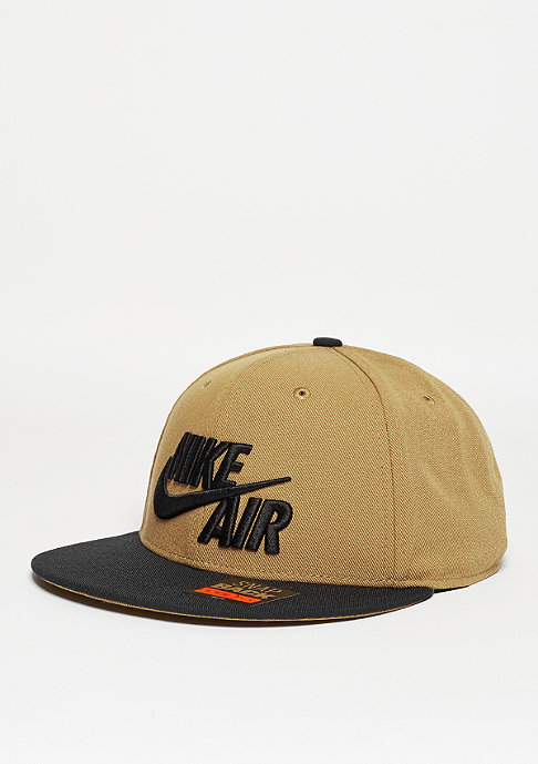 NIKE Snapback-Cap Air True golden beige/black/black