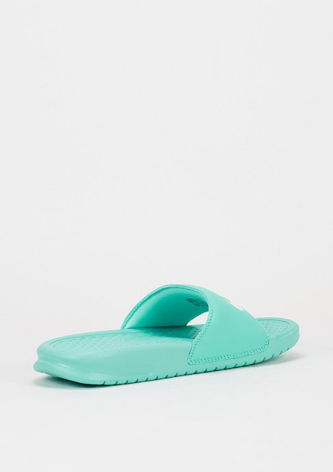 NIKE Badeschlappe Wmns Benassi Just Do It hyper turquoise/hyper turquoise/white