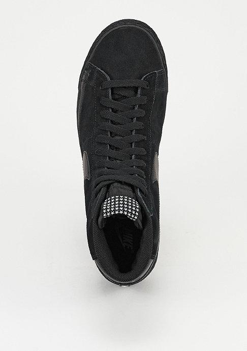 NIKE Schuh Blazer Mid Premium Vintage black/white/gum light brown