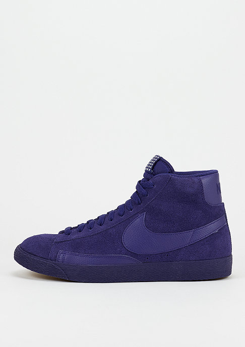 NIKE Schuh Blazer Mid Premium Vintage royal blue/white/gum light brown