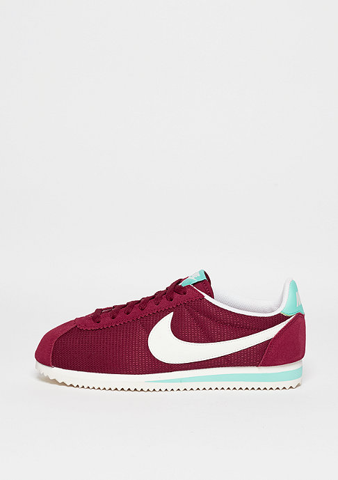NIKE Laufschuh Classic Cortez noble red/sail/hyper turquoise
