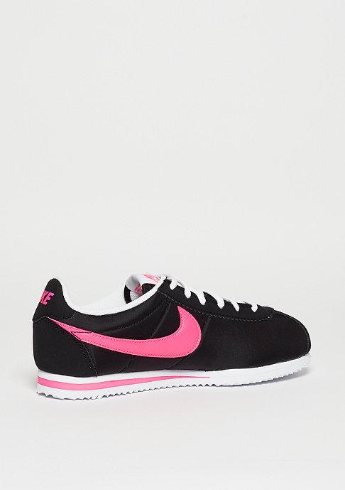 NIKE Laufschuh Cortez Nylon (GS) black/pink blast/white