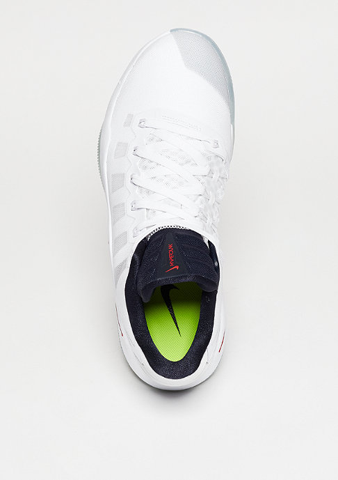 NIKE Basketballschuh Hyperdunk 2016 Low white/dark obsidian/bright crimson