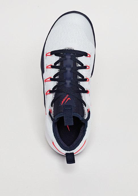 NIKE Basketballschuh Hypershift white/bright crimson/obsidian