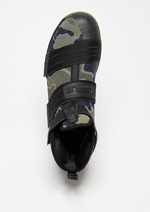 NIKE Basketballschuh LeBron Soldier 10 SFG black/bamboo/medium olive