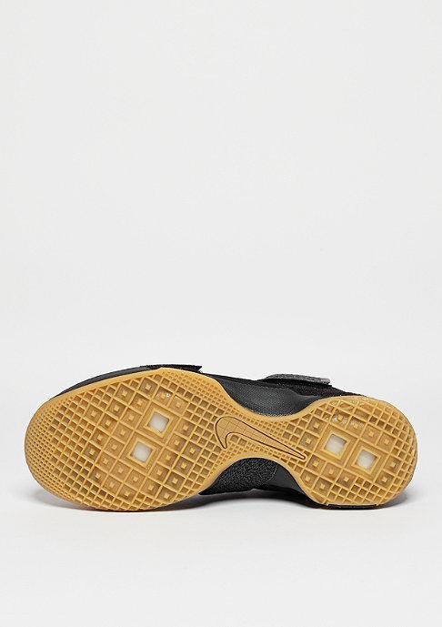 NIKE Basketballschuh LeBron Soldier 10 SFG black/metallic dark grey/yellow