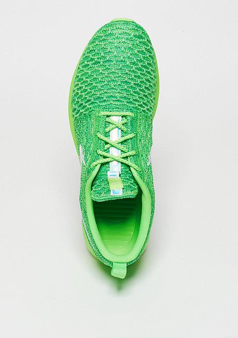 NIKE Laufschuh Roshe Flyknit voltage green/white/lcd green