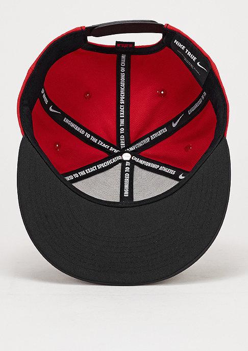 NIKE Snapback-Cap S+ LB13 True black/university red/university red