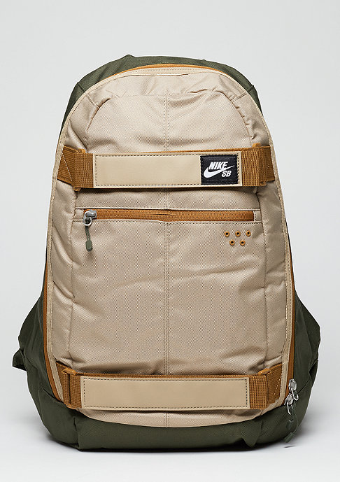 NIKE SB Rucksack Embarca Medium cargo khaki/khaki/ale brown