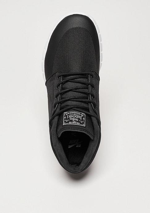 NIKE SB Skateschuh Stefan Janoski Max Mid black/black/metallic silver