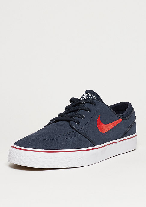 NIKE SB Schuh Air Zoom Stefan Janoski obsidian/university red/red