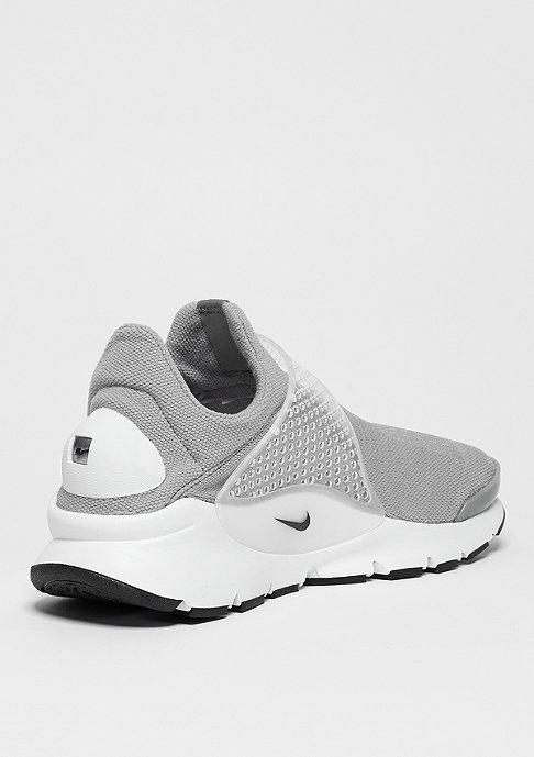 NIKE Laufschuh Sock Dart medium grey/black/white