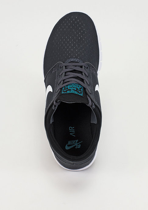 NIKE SB Skateschuh Stefan Janoski Max dark grey/white/black/gym blue