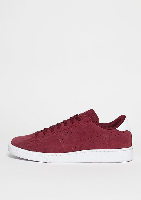 NIKE Schuh Tennis Classic CS Suede team red/team red/white