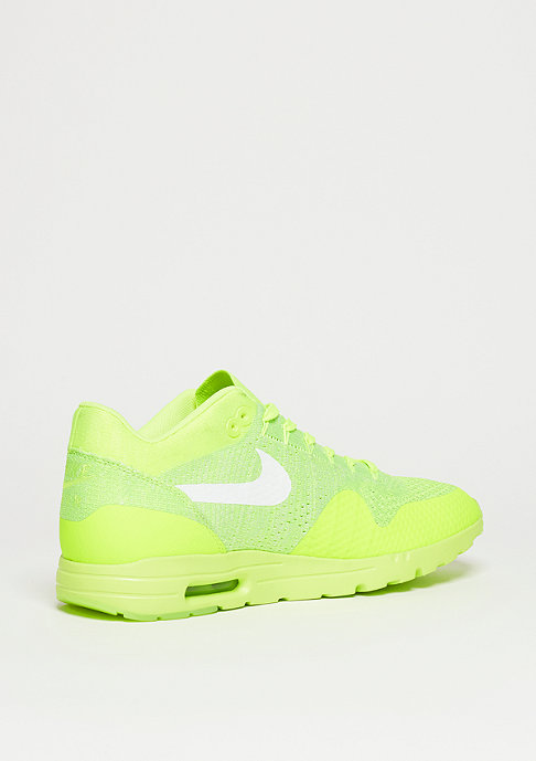 NIKE Schuh Wmns Air Max 1 Ultra Flyknit volt/white/electric green