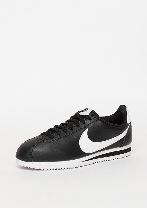 NIKE Laufschuh Wmns Classic Cortez Leather black/white/white