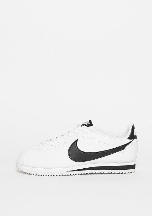 NIKE Schuh Wmns Classic Cortez Leather white/black/black