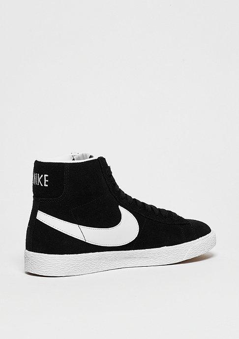 NIKE Schuh Wmns Blazer Mid Suede black/white