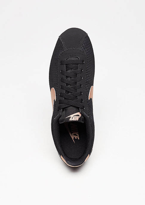 NIKE Laufschuh Wmns Classic Cortez Leather Lux black/mtlc red/bronze/sail