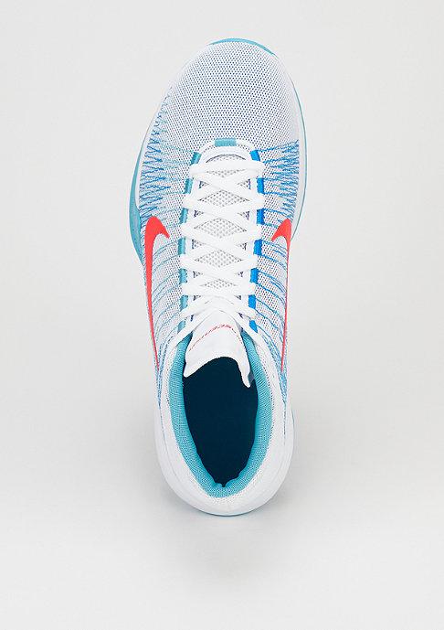 NIKE Basketballschuh Zoom Ascention white/bright crimson/omega blue/photo blue