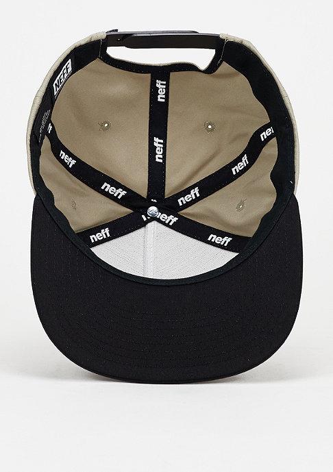 Neff Snapback-Cap X tan/black