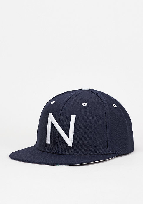 New Black Snapback-Cap N Patch navy
