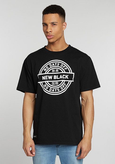 New Black T-Shirt Nocay black
