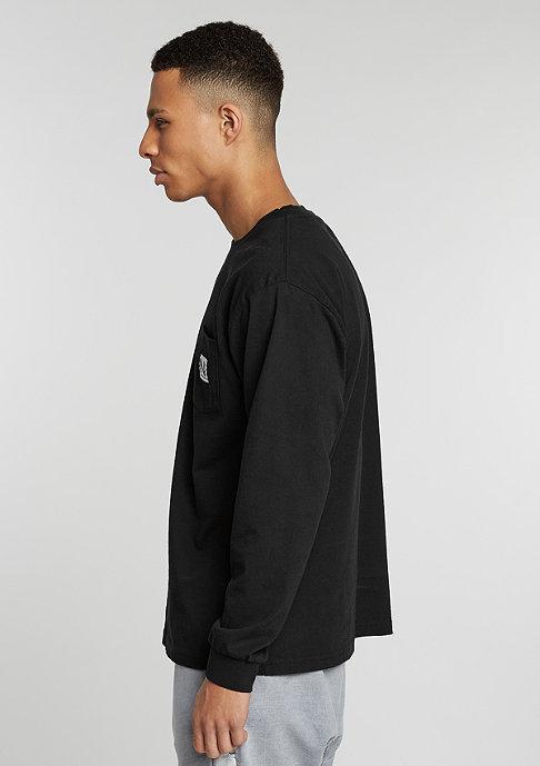 New Black Longsleeve Pocket black