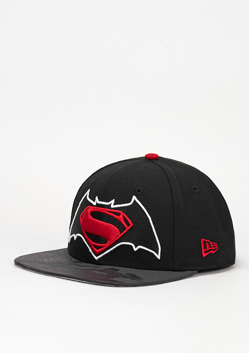 New Era Snapback-Cap Vizaflective 9Fifty Batman vs. Superman black/red