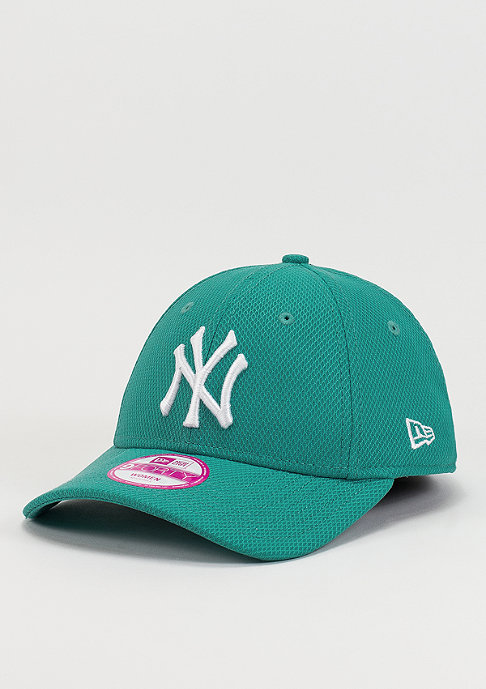New Era Strapback-Cap Diamond Era Fashion Essential MLB New York Yankees teal