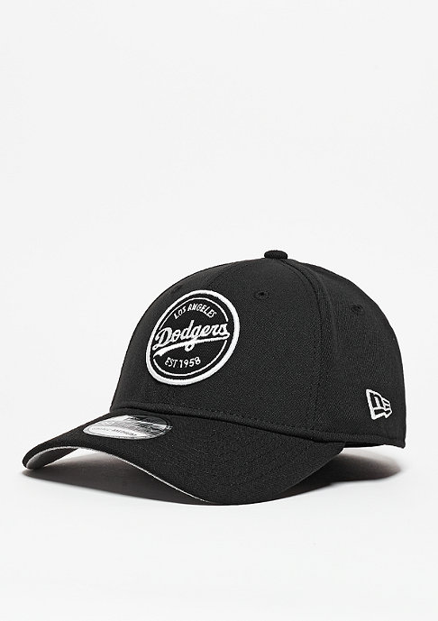 New Era Baseball-Cap Emblem Stretch MLB Los Angeles Dodgers black